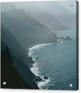 California Coastline Acrylic Print by Unknown