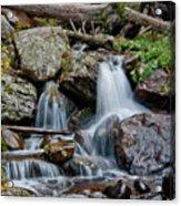 Calypso Cascades Acrylic Print by Brent Parks