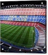 Camp Nou Acrylic Print by Agusti Pardo Rossello