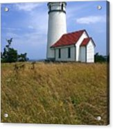 Cape Blanco Light Acrylic Print by Winston Rockwell