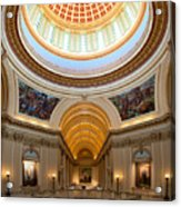 Capitol Interior II Acrylic Print by Ricky Barnard