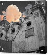 Capri Church Acrylic Print by Jim Wright