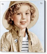 Captain January, Shirley Temple, 1936 Acrylic Print by Everett