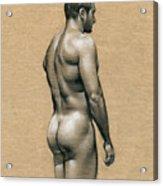 Carlos Acrylic Print by Chris  Lopez