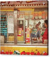 Carnival - The Candy Shack Acrylic Print by Mike Savad
