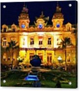 Casino Monte Carlo Acrylic Print by Jeff Kolker