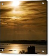 Castle Stalker At Sunset, Loch Laich Acrylic Print by John Short