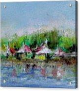Central Park Ny Acrylic Print by Joyce A Guariglia