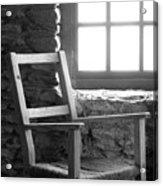 Chair By Window - Ireland Acrylic Print by Mike McGlothlen