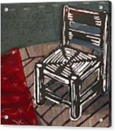 Chair II Acrylic Print by Peter Allan
