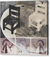 Chair Xi Acrylic Print by Peter Allan