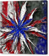 Chaotic Star Project - Take 3 Acrylic Print by Scott Hovind