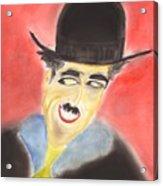 Chaplin Acrylic Print by Roger Cummiskey