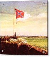 Chapman Fort Sumter Flag Acrylic Print by Granger