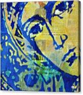 Chapter 10 Acrylic Print by Martina Anagnostou