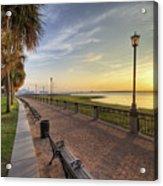 Charleston Sc Waterfront Park Sunrise  Acrylic Print by Dustin K Ryan