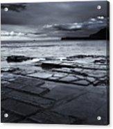 Checkerboard Squares Acrylic Print by Mike  Dawson
