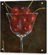 Cherries Jubilee Acrylic Print by Sheryl Heatherly Hawkins
