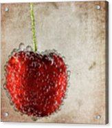 Cherry Fizz Acrylic Print by Al  Mueller