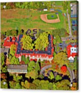Chestnut Hill Academy 500 West Willow Grove Avenue Acrylic Print by Duncan Pearson