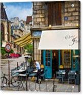 Chez Julien Acrylic Print by Inge Johnsson