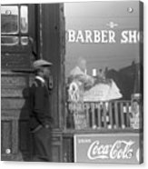 Chicago: Barber Shop, 1941 Acrylic Print by Granger