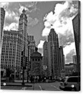 Chicago Acrylic Print by Miranda  Miranda