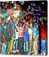 Child Of The People Acrylic Print by Michael Durst