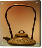 Chinese Teapot - A Symbol In Itself Acrylic Print by Christine Till