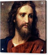 Christ At 33 Acrylic Print by Heinrich Hofmann