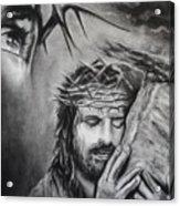Christ Acrylic Print by Carla Carson