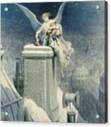 Christmas Eve Acrylic Print by Gustave Dore