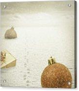 Christmas Journey Acrylic Print by Wim Lanclus