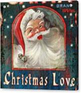 Christmas Love Acrylic Print by Joel Payne