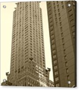Chrysler Building Acrylic Print by Debbi Granruth