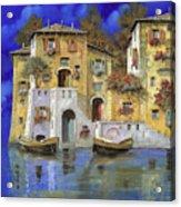 Cieloblu Acrylic Print by Guido Borelli
