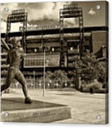 Citizens Park 2 Acrylic Print by Jack Paolini