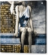 City Angel -2 Acrylic Print by Bob Orsillo