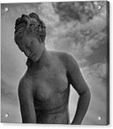 Classic Woman Statue Acrylic Print by Setsiri Silapasuwanchai