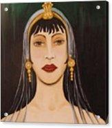 Cleo Acrylic Print by Leah Saulnier The Painting Maniac