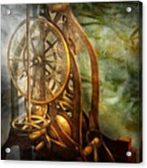 Clockmaker - The Day Time Stood Still  Acrylic Print by Mike Savad