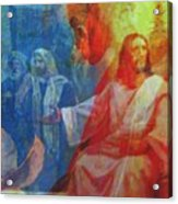 Closer To Him I Wanna Be Acrylic Print by Fania Simon