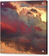 Cloudscape Sunset 46 Acrylic Print by James BO  Insogna