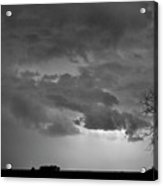 Co Cloud To Cloud Lightning Thunderstorm 27 Bw Acrylic Print by James BO  Insogna