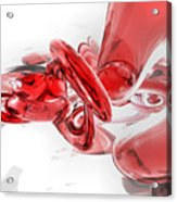 Coagulation Abstract Acrylic Print by Alexander Butler