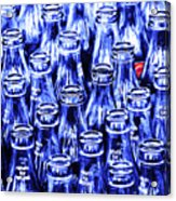 Coca-cola Coke Bottles - Return For Refund - Square - Painterly - Blue Acrylic Print by Wingsdomain Art and Photography