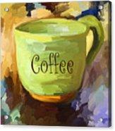 Coffee Cup Acrylic Print by Jai Johnson