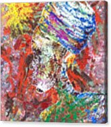Color Of Life Acrylic Print by Ramel Jasir