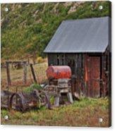 Colorado Ranch Acrylic Print by Charles Warren