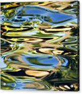 Colorful Water Ripples Acrylic Print by Dave Fleetham - Printscapes